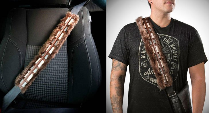 Chewbacca Star Wars Seat Belt Cover Shoulder Pad