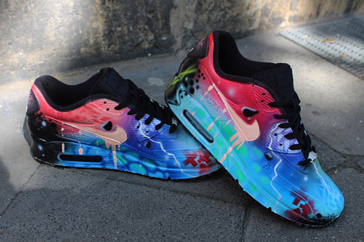 Custom Airbrushed Nikes