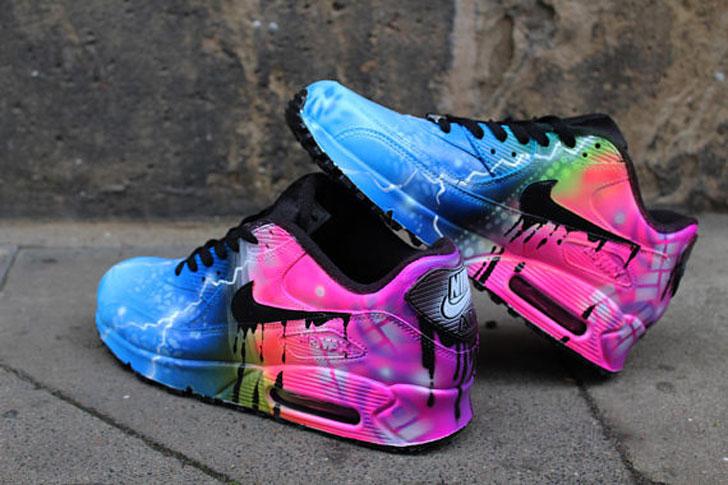 Custom Airbrushed Nikes