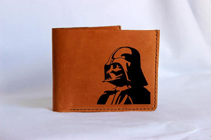 Darth Vader Leather Wallet - Cool Wallets