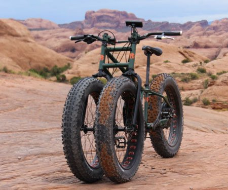 Electric Fat Tire Off-Road Tricycle