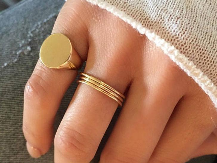 Engraved Signet Rings