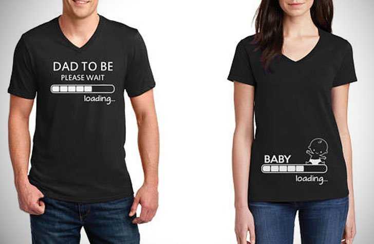 Funny Pregnancy Announcement Shirts for Couples