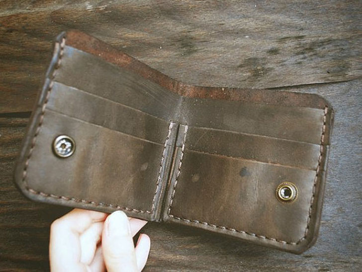 Game of Thrones Stark Wolf Leather Wallet