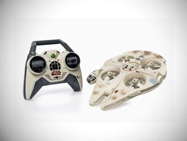Giant Flying Star Wars Millennium Falcon Drone