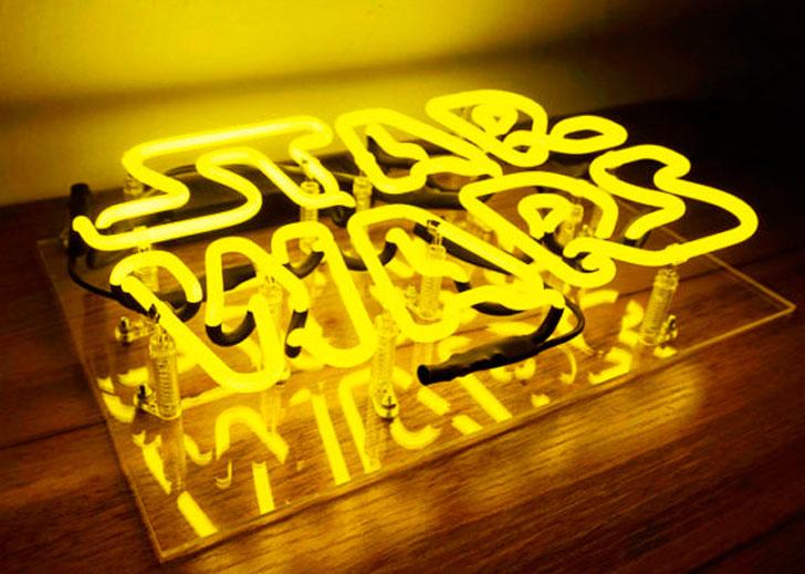Handmade 'Star Wars' Movie Art Light