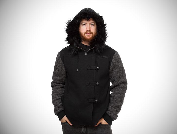 Jon Snow Fur Hoodie