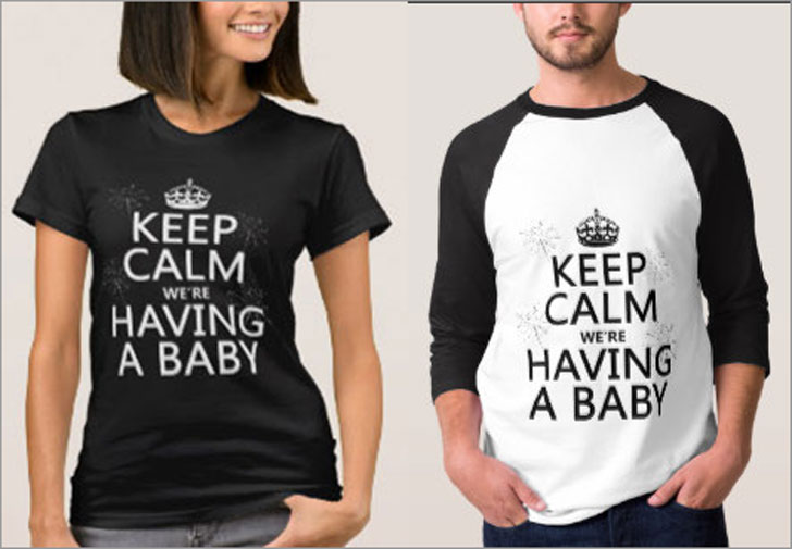 Keep Calm We're Having A Baby T-Shirt