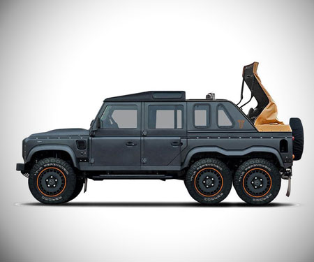 Land Rover Defender Flying Huntsman 6x6 Soft Top
