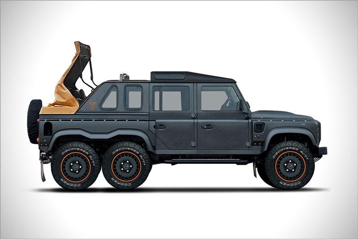 Land Rover Defender Flying Huntsman 6x6 Soft Top