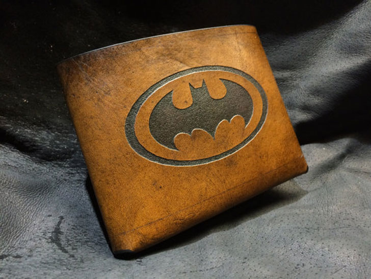 Leather Batman Wallet - Cool Wallets