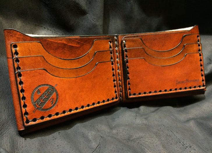 Leather Boba Fett Star Wars Wallet