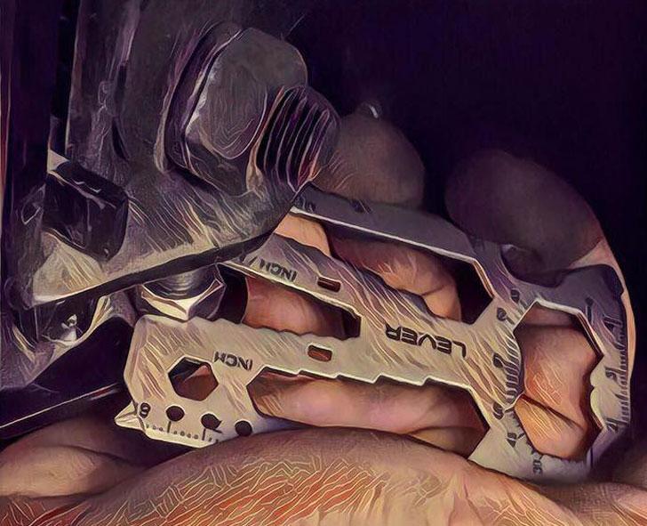 Lever Gear Toolcard Multi-tool