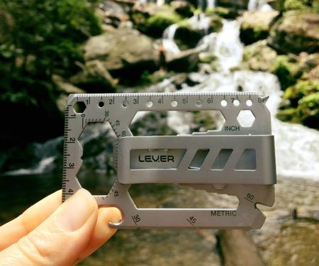 Lever Gear Toolcard Multi-tool