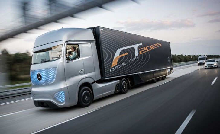 Mercedes Self-Driving Truck