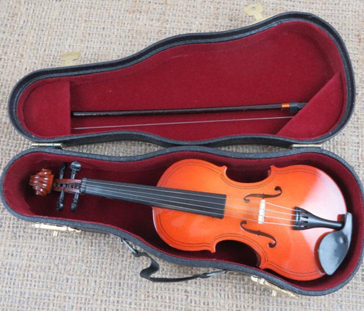 Miniature Personalized Violin