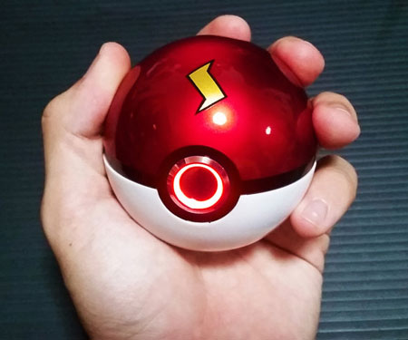 Pokeball With Ring Light