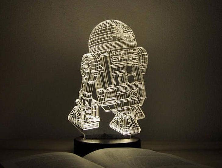 R2D2 LED Lamp