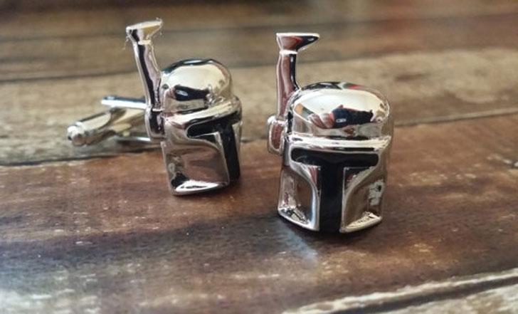 Star Wars Boba Fett Cufflinks