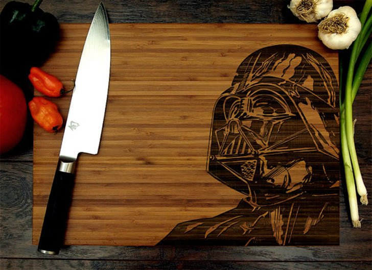 Star Wars Darth Vader Cutting Board