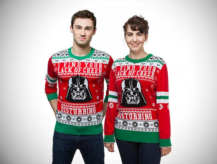 Star Wars Darth Vader Lack of Cheer Holiday Sweaters