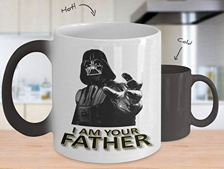 Star Wars I Am Your Father Heat Changing Mug