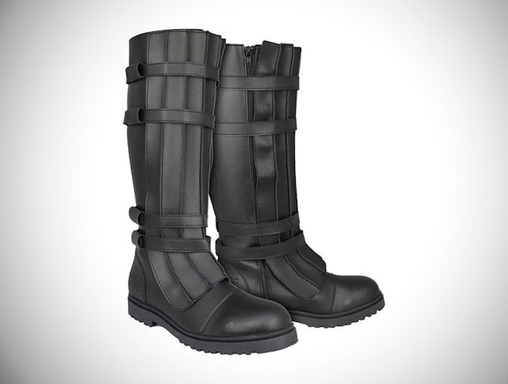 Star Wars Kylo Ren Style Boots with Straps