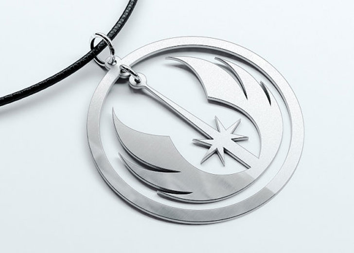 Star Wars Movie Jedi Logo Pendant