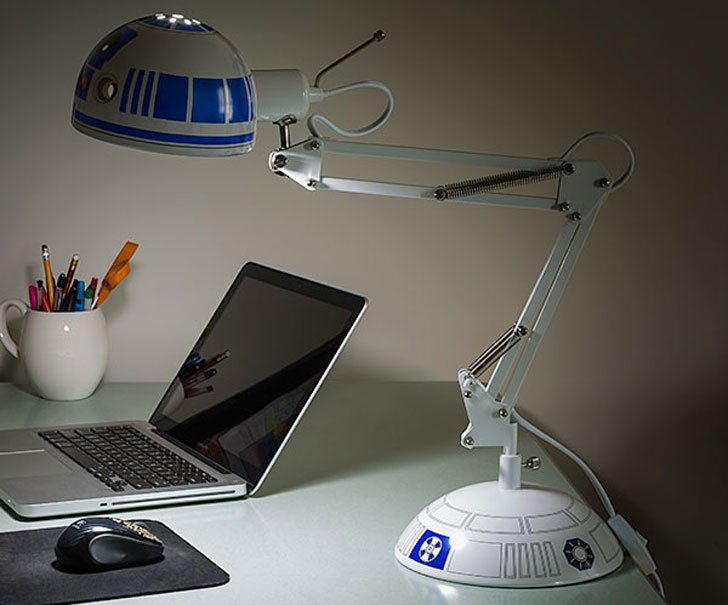 Star Wars R2 D2 Architectural Desk Lamp