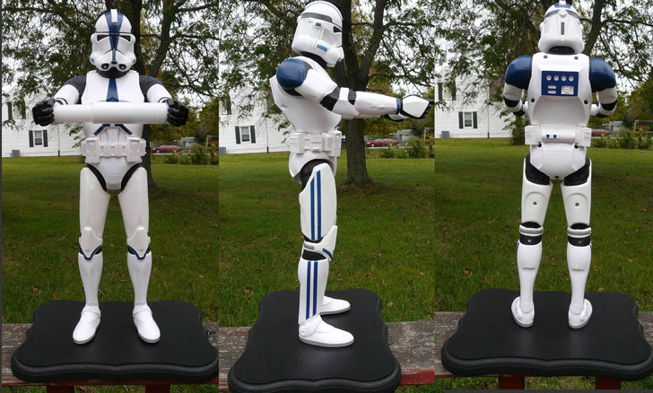 Star Wars Stormtrooper Custom Toilet Paper Holder
