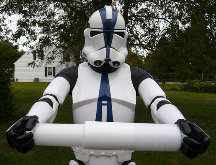 Star Wars Stormtrooper Custom Toilet Paper Holder