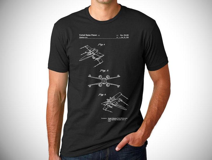 Star Wars X Wing Patent T Shirt