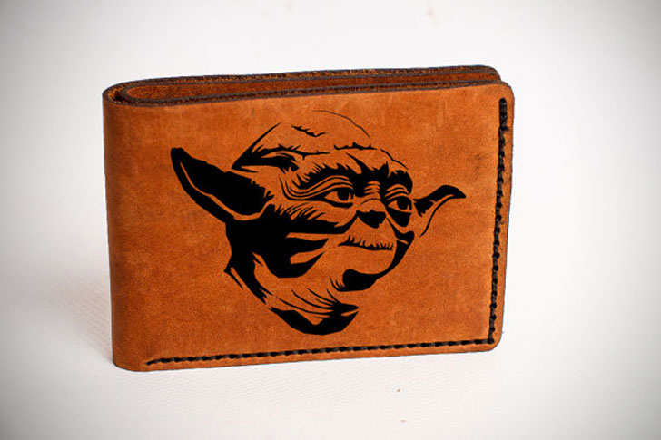 Star Wars Yoda Leather Wallet