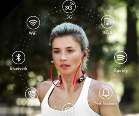 Vinci Standalone AI Sports Headphones