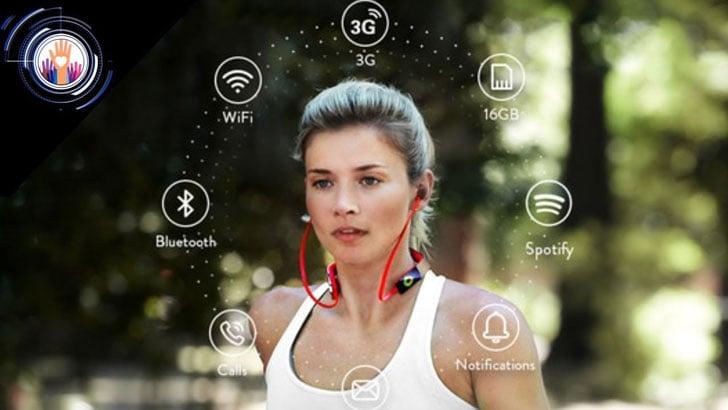 Vinci Standalone AI Sports Headphones
