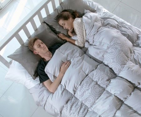 Wireless Smart Heated Comforter