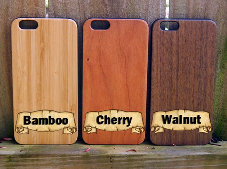 Wooden Mandalorian Phone Cases