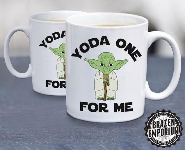Yoda One for Me Coffee Mug