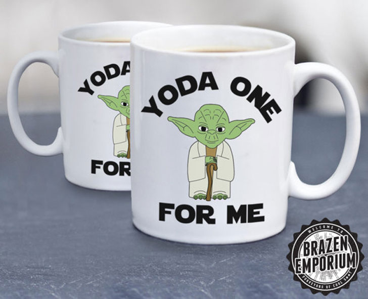Yoda One for Me Coffee Mug