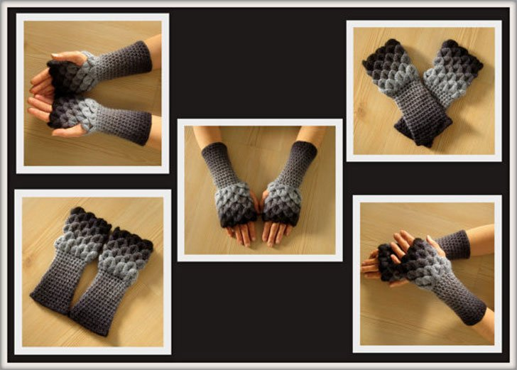 dragon gloves