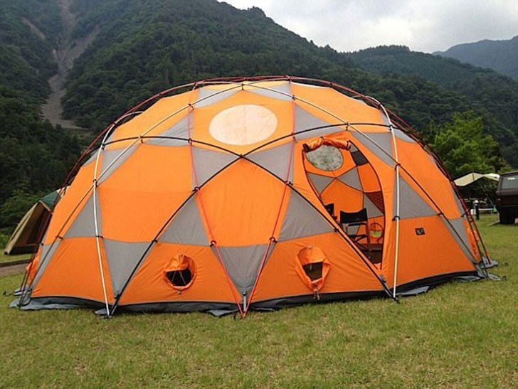 15-Person Space Station Dome Tent & 15-Person Space Station Dome Tent - Awesome Stuff 365