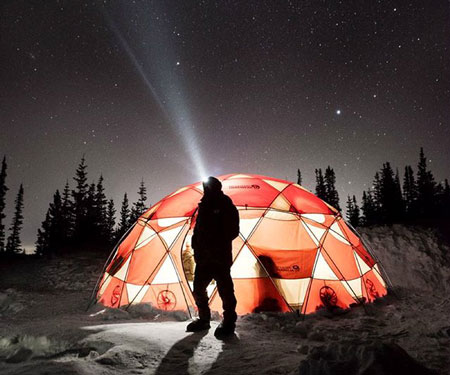 15-Person Space Station Dome Tent