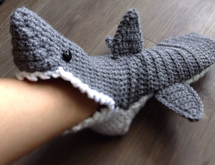 Adults Shark Slippers