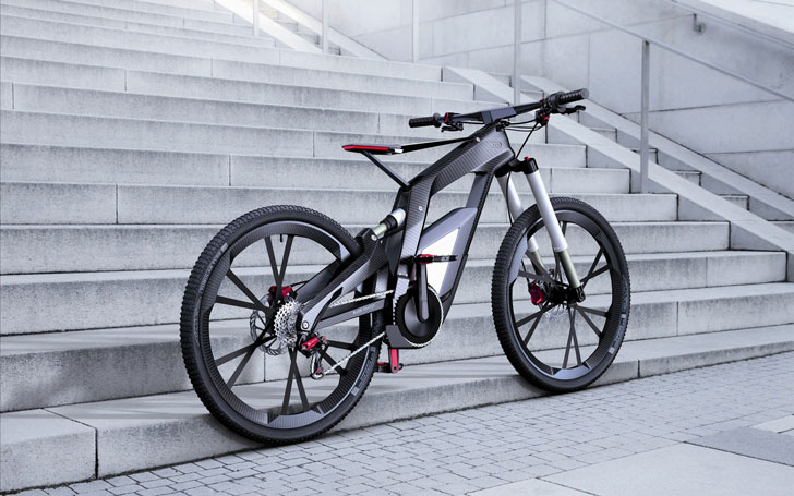 Audi E-Bike - coolest electric bikes