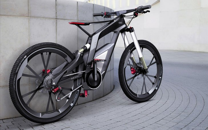 Audi E-Bike - coolest electric bikes