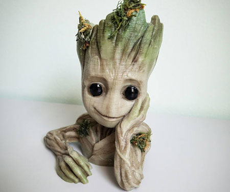 Baby Groot Planters
