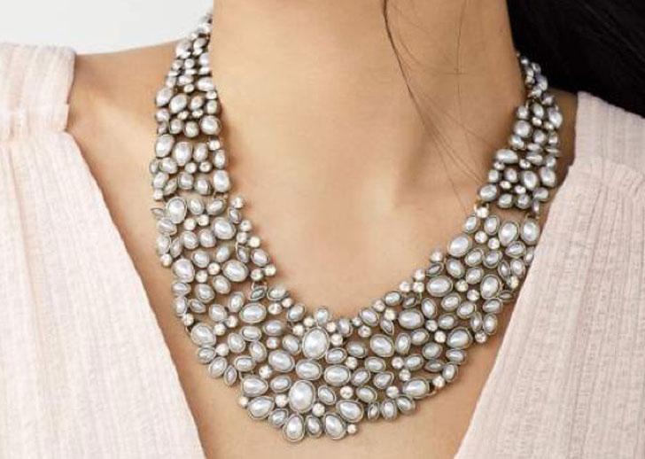 Baublebar Kew Crystal Collar Necklace