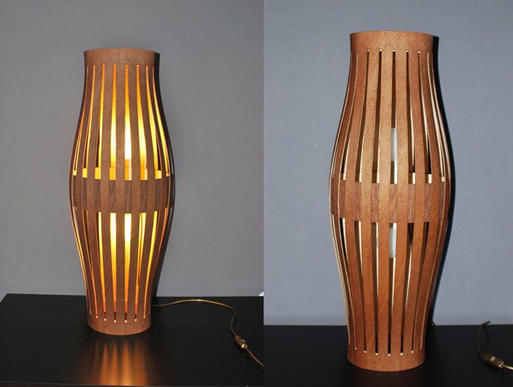 Bentwood Floor Lamp