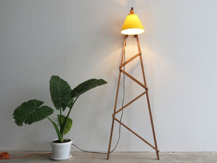 Big Ferm Industrial Floor Lamp