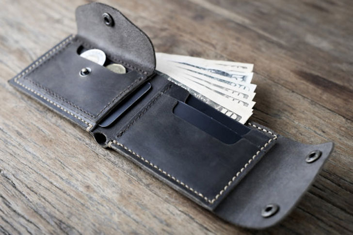 Biker Wallet WITHOUT the Chain